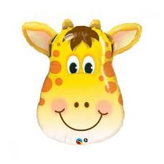 Фольгированный шарик Голова жирафа