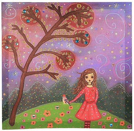 Панно-картина Маленькая принцесса