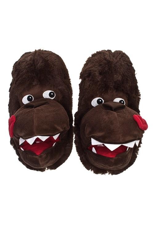 Тапочки Смешная горилла