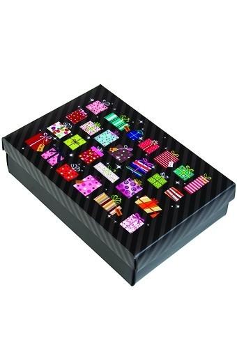 Коробка подарочная Много подарков