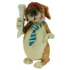 Декоративная фигурка Пёс и кость
