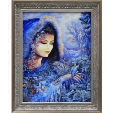 Картина с кристаллами Сваровски Снежная королева