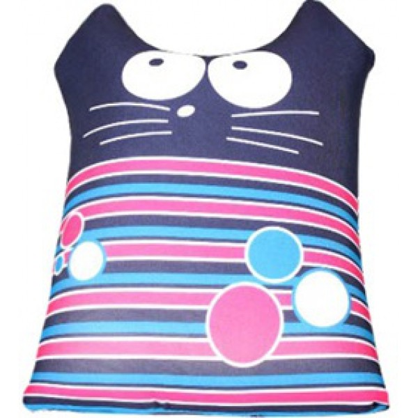 Игрушка антистрессовая Интерьерный кот полосатик синий
