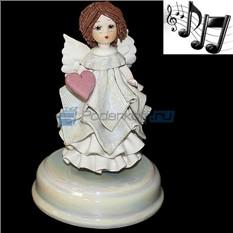 Статуэтка - музыкальная Ангел с сердцем