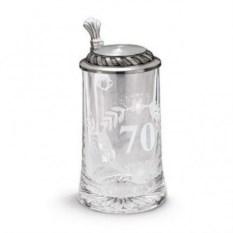 Пивная кружка 70 лет на 0,5 л