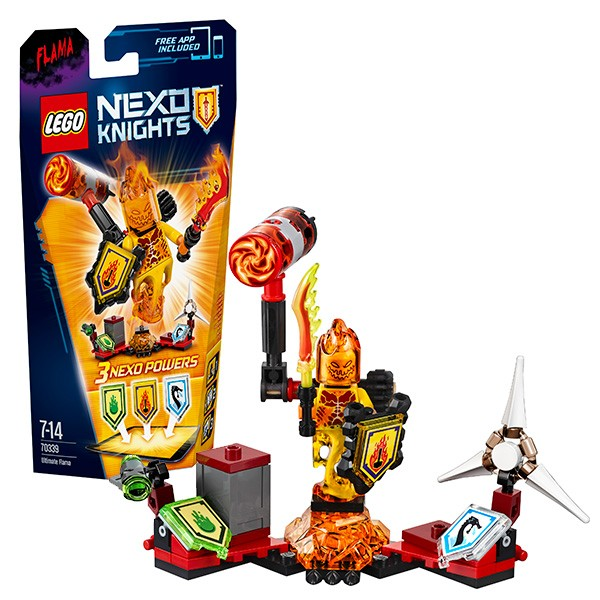 Конструктор Lego Nexo Knights Флама- Абсолютная сила