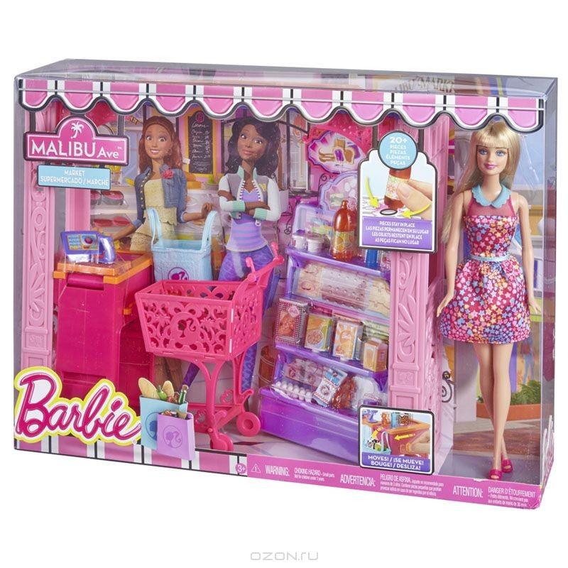 Игровой набор Барби. Продуктовый магазин