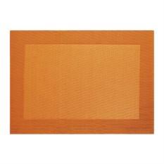 Оранжевая салфетка с плетеными краями Table tops