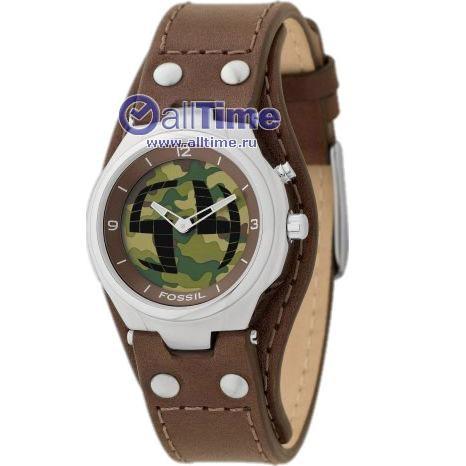 Мужские наручные fashion часы Fossil