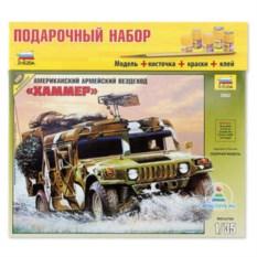 Сборная пластмассовая модель «Хаммер»