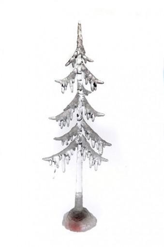 Новогоднее светящееся украшение Елочка в снегу