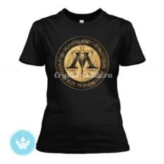 Женская футболка Министерство магии