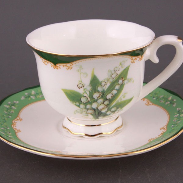 Чайный набор на 6 персон Ландыш