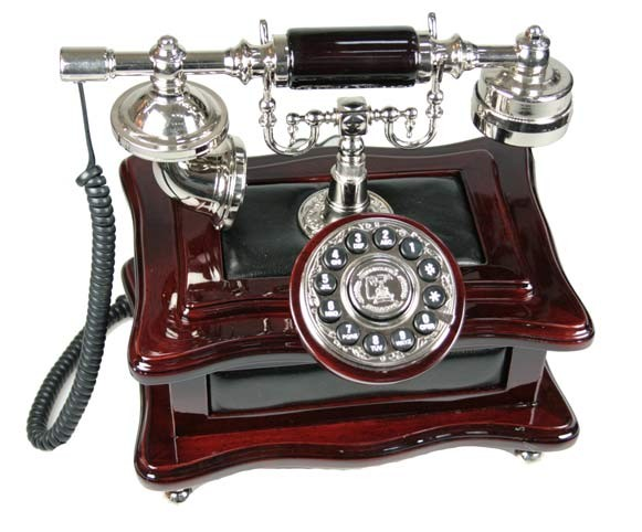 Ретро-телефон Деловой разговор