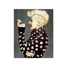 Картина по номерам G-Dragon