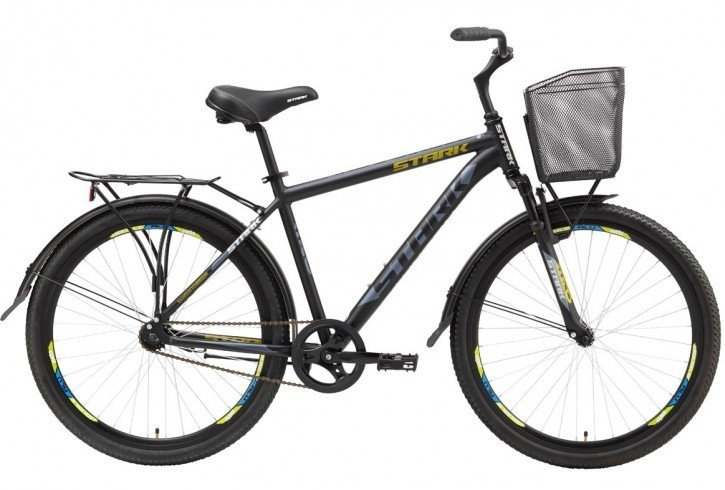 Городской велосипед Stark Indy Single (2016) Black
