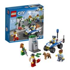 Конструктор Лего Город Набор для начинающих. Полиция