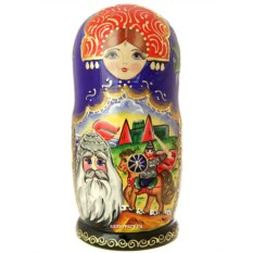 Набор матрешек Руслан и Людмила