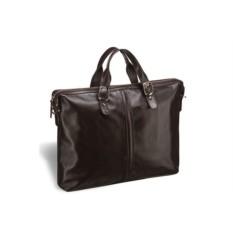 Деловая коричневая сумка Brialdi Denver