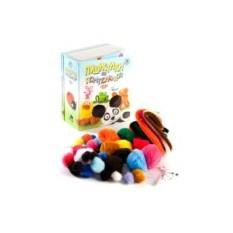 Набор для детского творчества «Пушистики из помпончиков»