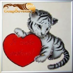 Картина Swarovski Я твой тигра