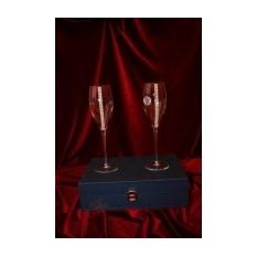 Фужеры для шампанского Spumante Regina (белые кристаллы)