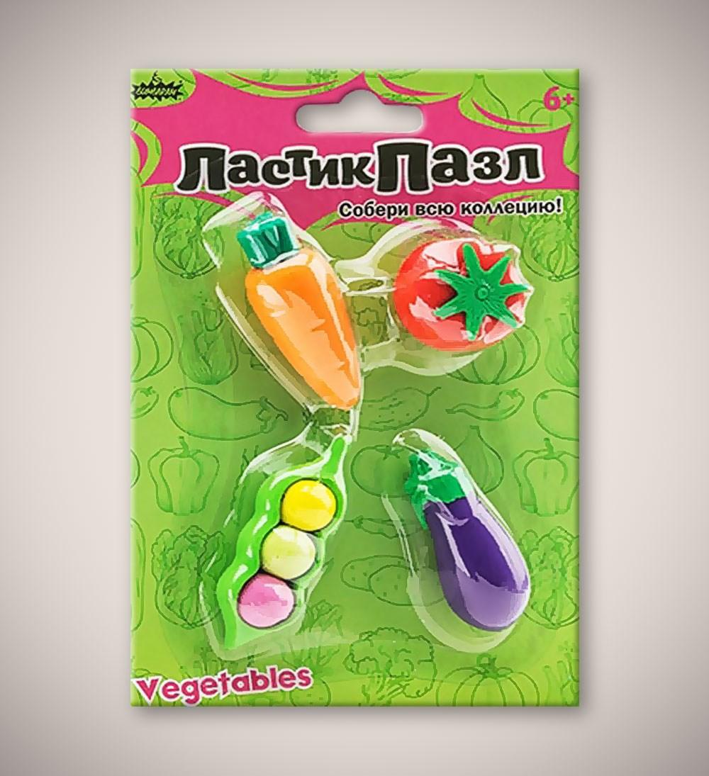 Ластики-пазлы «Овощи»