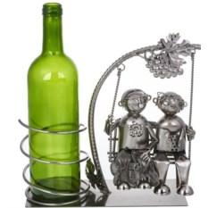 Держатель для бутылок «На качелях»