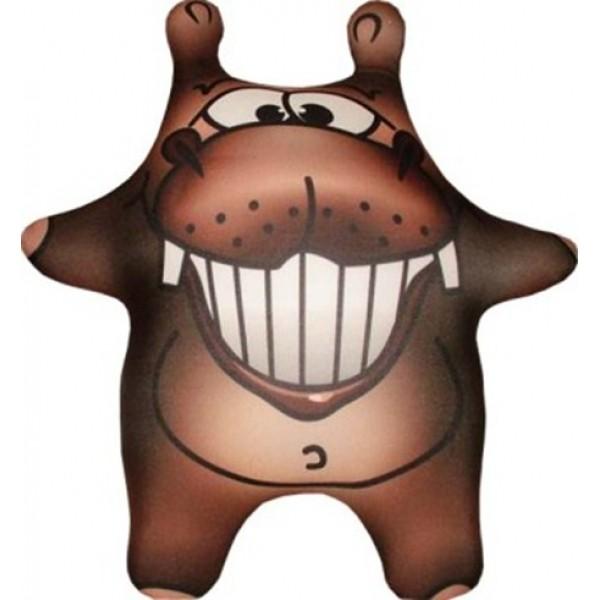 Антистрессовая игрушка-брелок Бегемот Шоколад