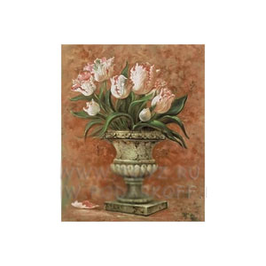 Картина «Тюльпаны в вазе»