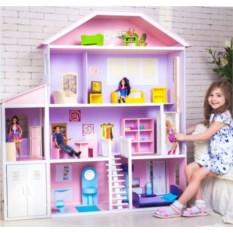 Дом из дерева для Барби Фантазия