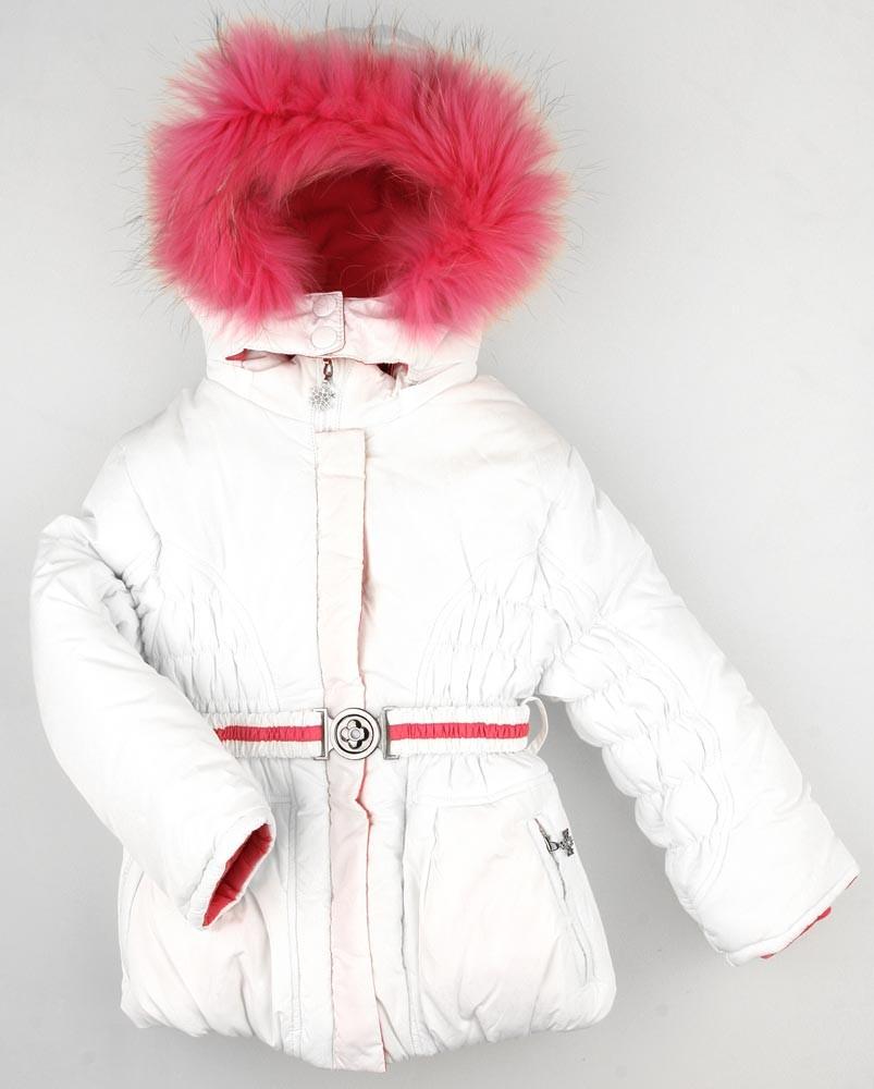 Комплект Fun Time куртка и полукомбинезон, цвет: белый