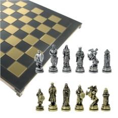 Металлический шахматный набор Крестовые походы
