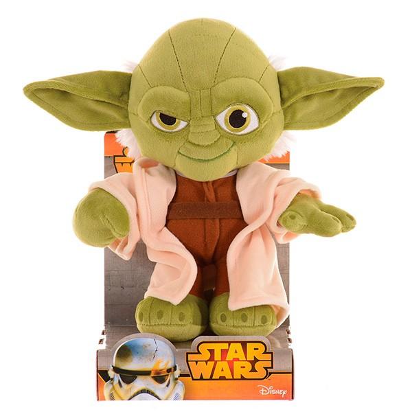 Мягкая игрушка Disney Star Wars Звездные войны. Йода