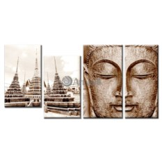 Модульная картина «Будда» 70×33 см