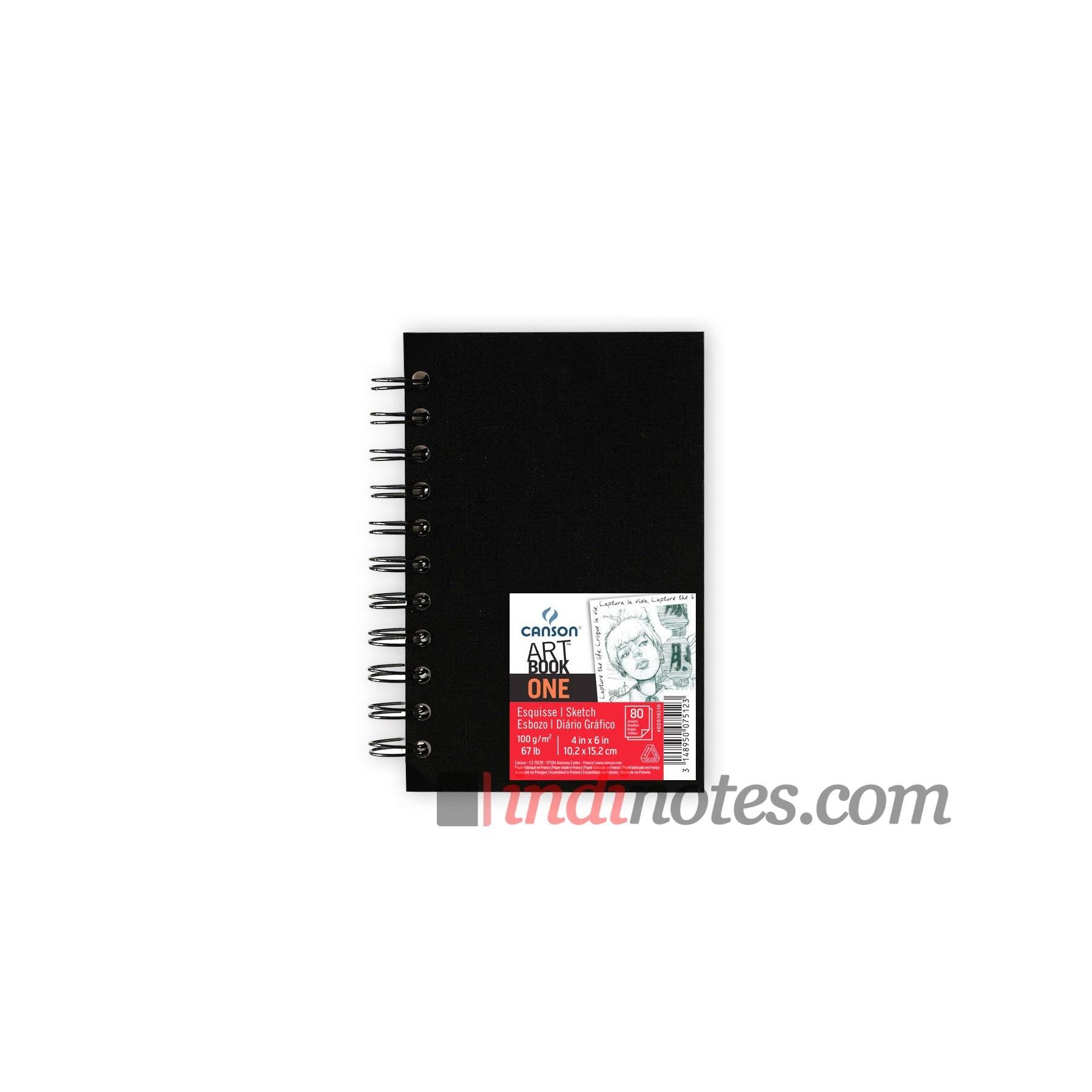 Блокнот Canson One Artbook A6 на спирали