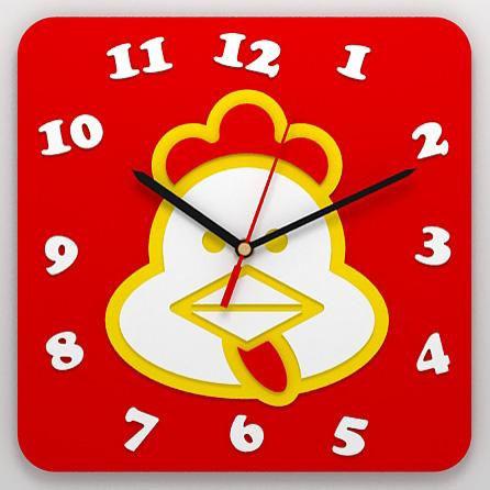 Детские часы «Курочка»