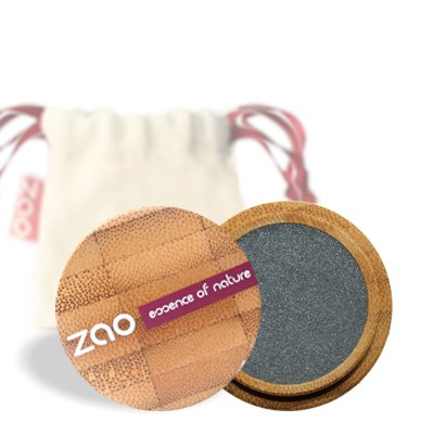 Перламутровые тени для век 110 (серый металл) zao