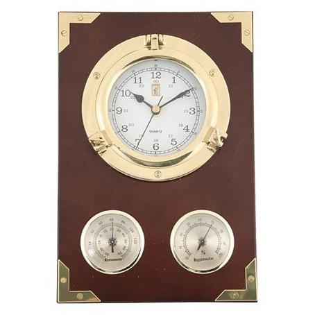Часы (иллюминатор) с барометром