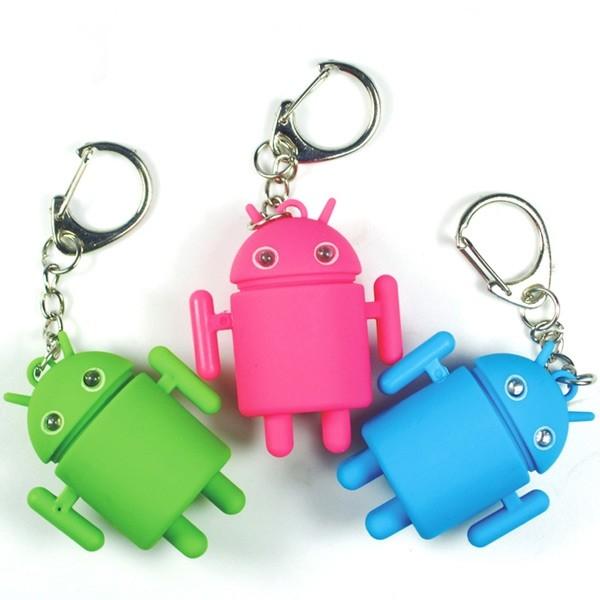 Брелок Android (led со звуком)