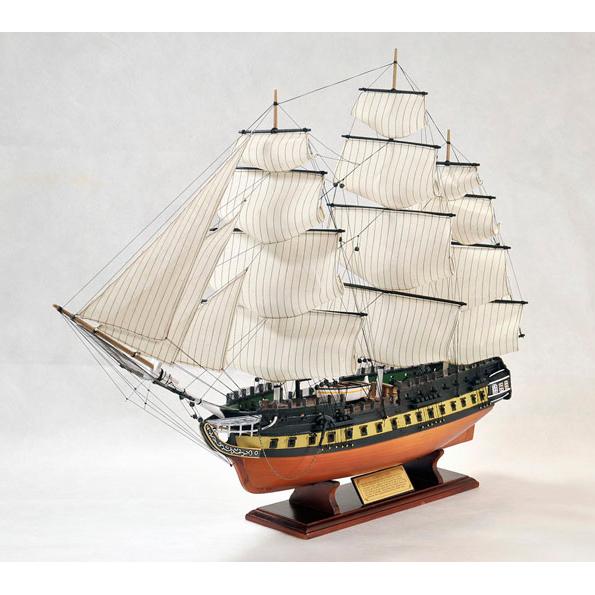 Корабль U.S.S. CONSTITUTION (94х67х23см.)