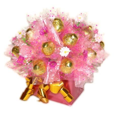 Букет из конфет «Самой нежной»