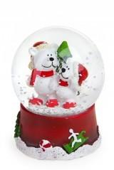 Новогоднее украшение Мишки с елкой
