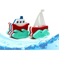 Игрушка-конструктор «Кораблик и парусник»