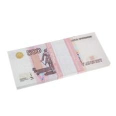 Блокнот Пачка 500 рублей