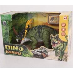 Подвижная фигура со звуком и светом Стиракозавр