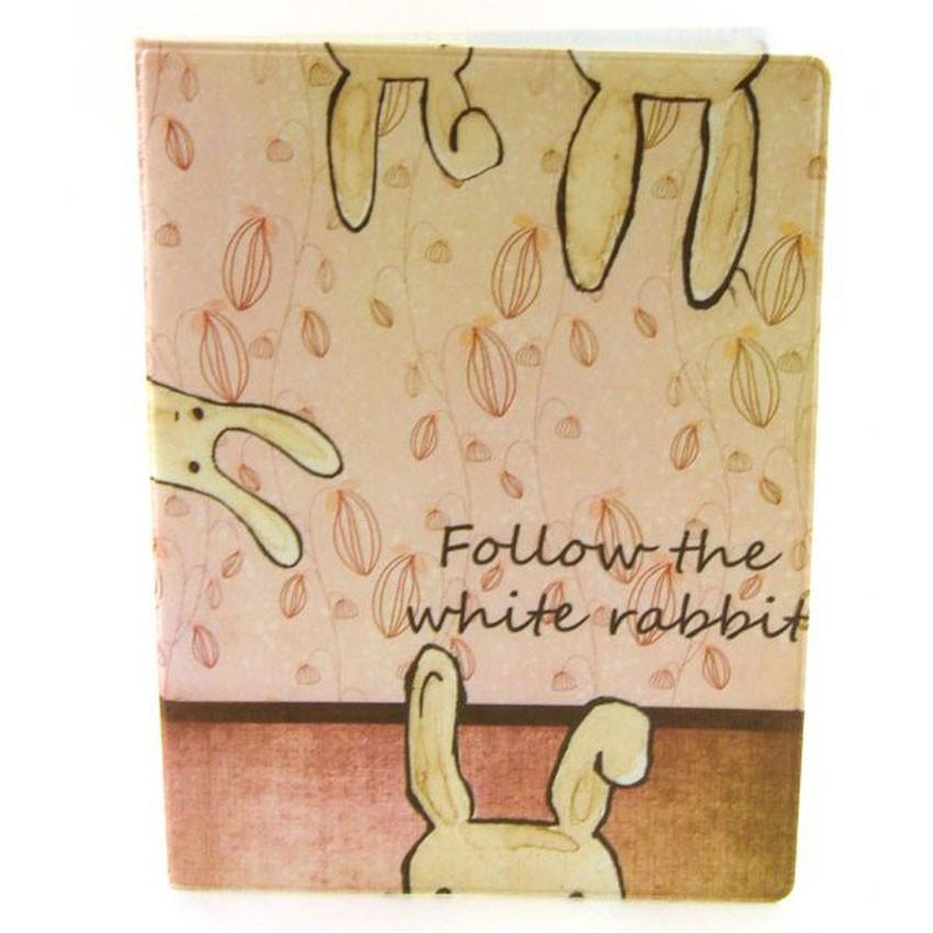 Обложка для паспорта Miusli Folow the rabbit