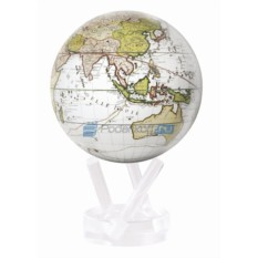 Глобус мобиле Terra Incognitta, белый d 16.5 см