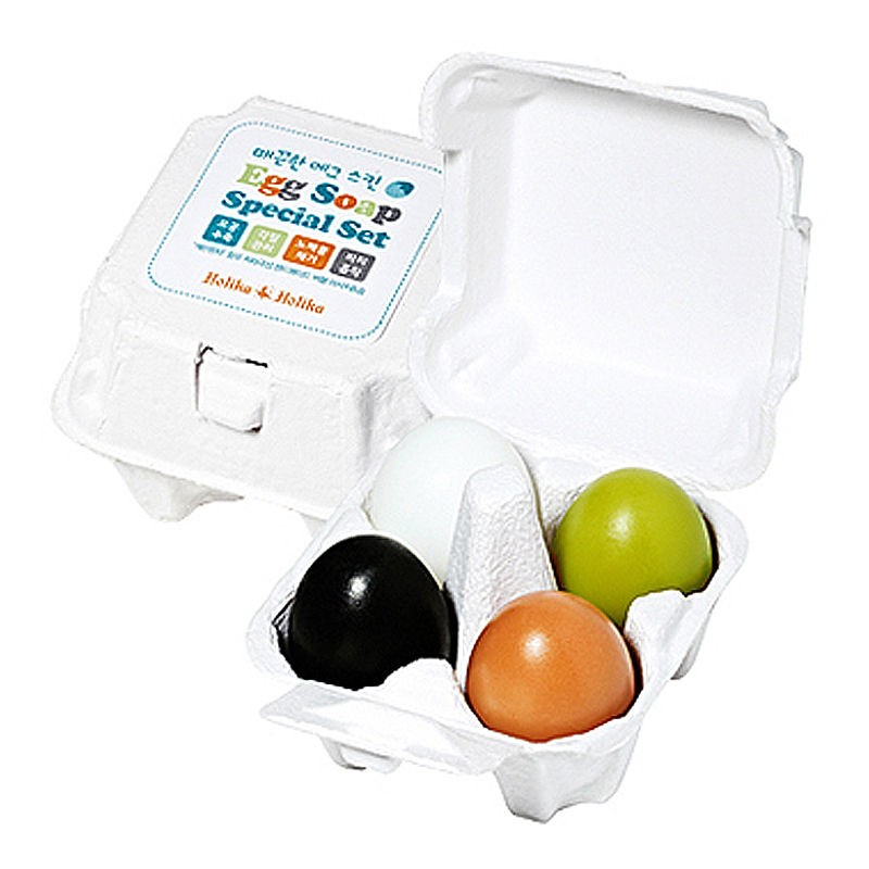 Маска Holika Holika Egg soap special set