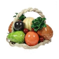 Статуэтка Корзина с фруктами